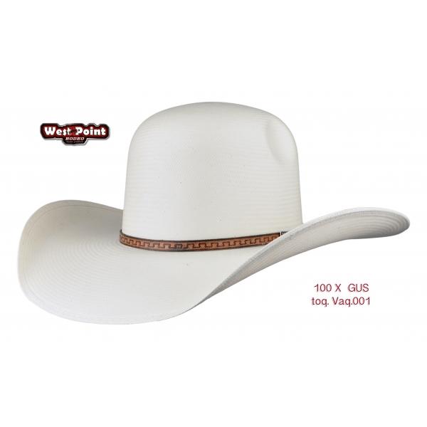 Sombrero Gus 1OOx Blanco Cerrado
