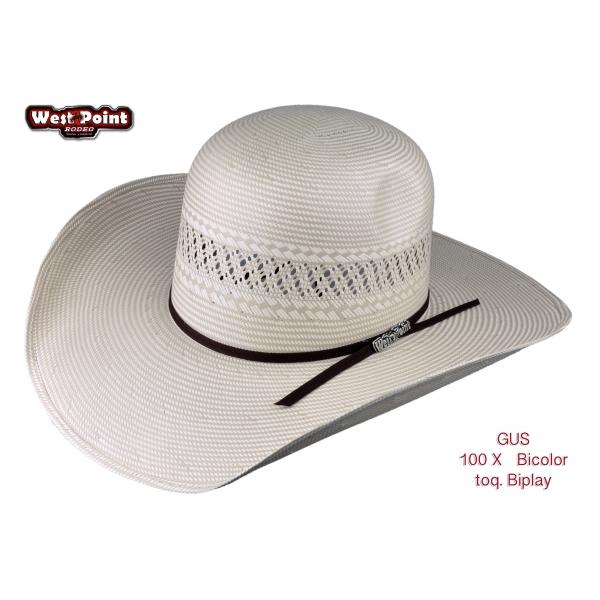 Sombrero Gus 1OOx Bicolor Randado