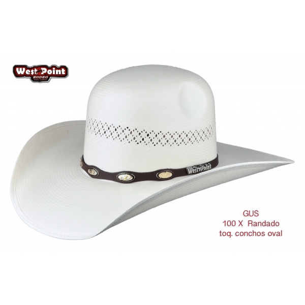 Sombrero Gus 1OOx Blanco Randado